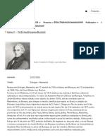 Karl Friedrich Philip Von Martius_Bio