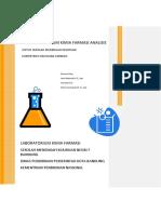 Modul Praktikum Kimia Farmasi Analisis Smkn7 Bandung 2011