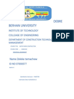Debre Berhan University