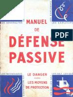 Manuel de La Défense Passive