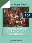 Marín, M. Ángel - Joseph Haydn y El Cuarteto de Cuerda