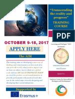 2017 Info Pack Social Entrepreneurship Training (1)
