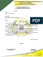 Surat Keluar Perizinan