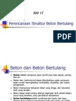 Perencanaan Struktur Beton Bertulang (1)