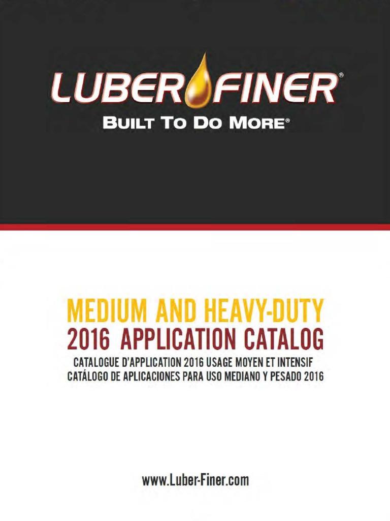Luber-finer LFF4806 Heavy Duty Fuel Filter