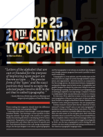 20th Century Typographers PRINT