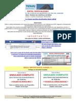 Edital Verticalizado Técnico TCM-RJ