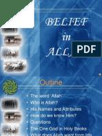 Belief in Allah