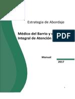 Estrategia Medico Del Barrio 17-10-2017