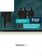 Unit 2 Personnel Planning and Recruitment