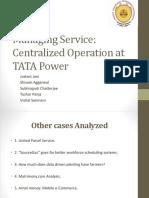 MSB Tata Power