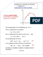 Classical Dynamics for a System of Particles