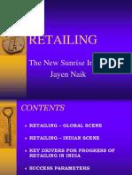 Retailing Presentation - PDPU