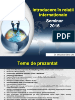 Introducere in Relatii Internationale