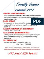 Dota Tournament