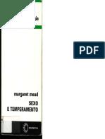 AULA 2 - MEAD M - Sexo e temperamento - Introdução e Quarta Parte.pdf
