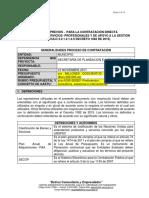 Estudios_previos Prestacion de Servicios Banco Proyectos