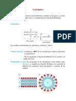 Fosfolípidos y Prostaglandinas