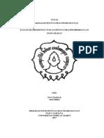 Materi 2 (Filsafat, Prinsip Dan Tujuan Penyuluhan)