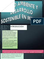 Medio Ambiente y Desarrollo Sostenible en Minería