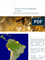 Newmont in Peru and Beyond - Trent Tempel