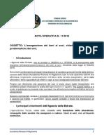 Nota Operativa n.11