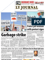 0826 issue of the Daily Journal