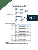 283149071 9 3 1 4 Packet Tracer Implementacion de Un Esquema de Direccionamiento IPv6 Con Subredes