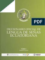 DICCIONARIO DE SEÑAS ECUATORIANO