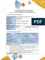 Guía de Actividades y Rúbrica de Evaluación - Fase 3 - Desarrollo de La Creatividad