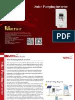 2016 Solar Pump Inverter-three Phase