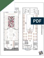 Distribucion Arquitectonica - Discoteca Acuarius