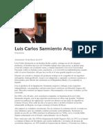 Luis Carlos Sarmiento Angulo - Empresario Colombiano - Biografía