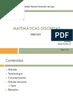 Matemáticas Discretas 2Bim Sem12 Árboles 1
