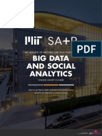 Mit Sap Big Data and Social Analytics Online Short Course Brochure
