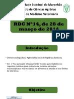 RDC Nº14, de 28 de março de.pptx