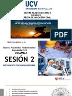 PPT2- DINÁMICA-2017-II-UCV