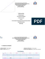 Formato de Planeación