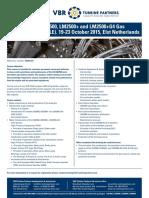 Brochure VBR Open LM2500 Familiarization Training Elst 2015