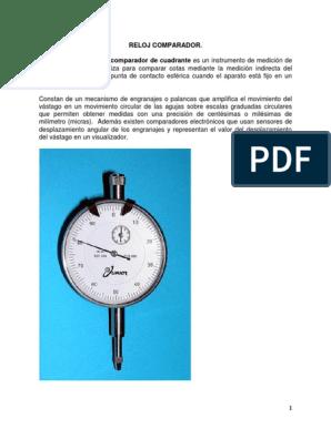 d1fdd6045fe1 Reloj Comparador