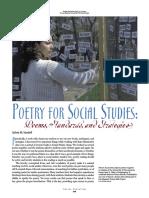 Poetry for Social Studies
