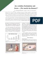 Therapie der erektilen Dysfunktion mit PDE-5 Hemmern - Vor- und Nachteile