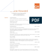 Grace Howard's Resume 2017