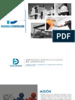Brochure FD Ingeniería y Construcción S.A.S.
