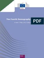 20130610 Report Demography Forum European Union