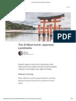 The 21 Most Iconic Japanese Landmarks