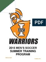 2015 Summer Program