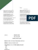 Proiect Didactic Gen Liric Inspectie