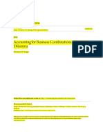 Accounting for Business Combinations- Choice or Dilemmaddfsadasd