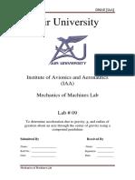 Lab # 09